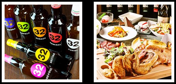 多種多様なワインと、本格イタリアンが人気のイタリアンバール